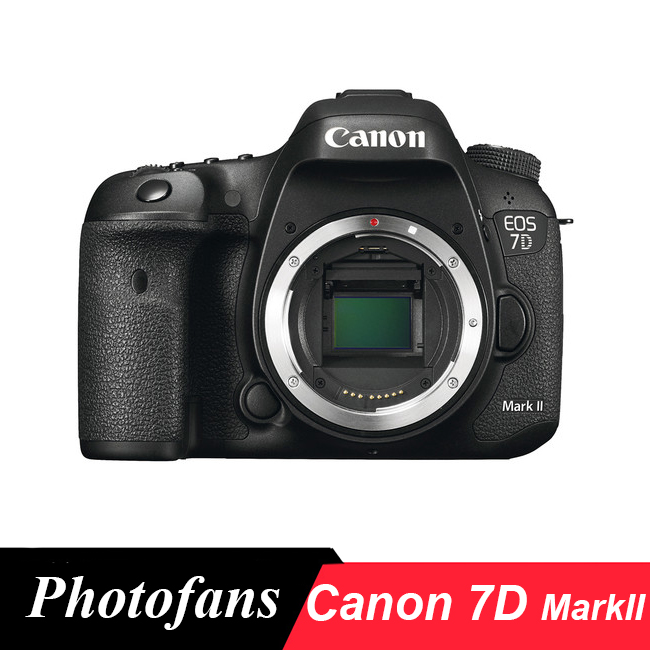 Canon  EOS 7D Mark II DSLR Camera (Body Only) new canon eos 7d mark ii mk 2 dslr camera body black multi languages
