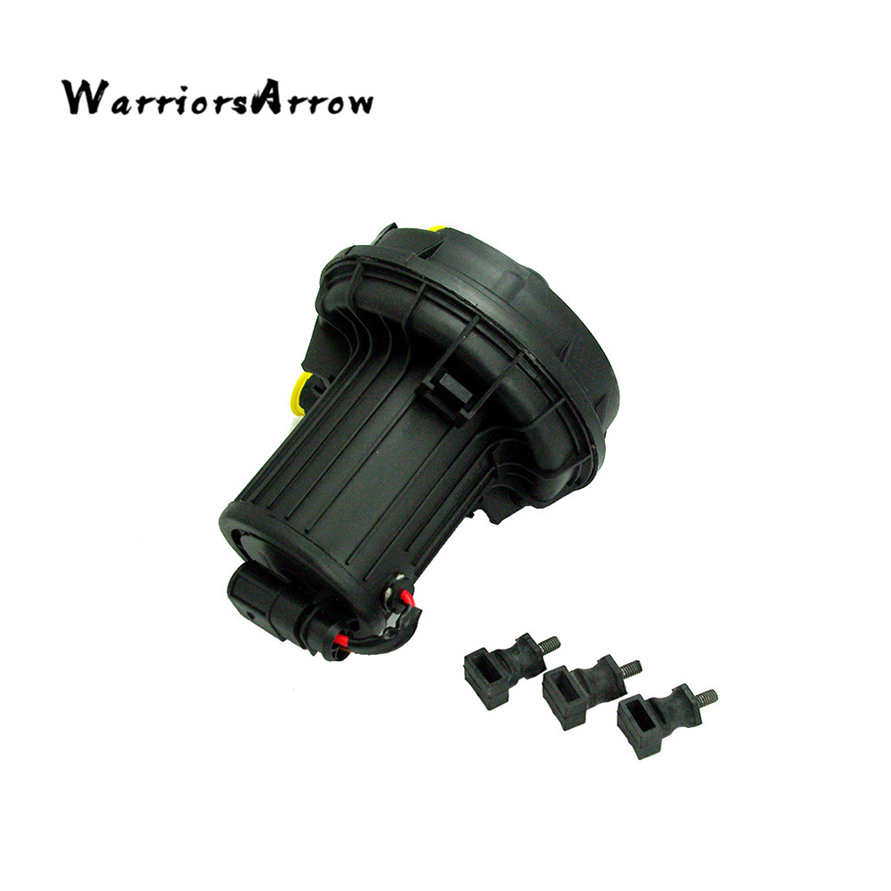 WarriorsArrow Set Smog Auxiliary Secondary Air Pump For VW Golf Passat Candy For Audi A4 06A959253B