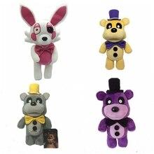 30cm Gold Five Nights At Freddy s Fox FNAF Freddy Fazbear Bear Plush Animals Toys For