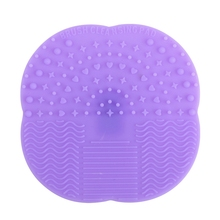 New Multifunctional Silicone Scrubbing Pad Tool Makeup Brush Scrub colorful