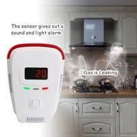 High Sensitive Stable Independent Alarm Smoke Detector Home Security Natural Gas Detector Sensor Fire Alarm Equipment Natural