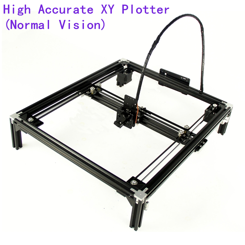 DIY XY Plotter drawbot pen drawing robot machine lettering corexy A4 A3 engraving area frame plotter robot kit for drawing-in Wood Routers from Tools    1