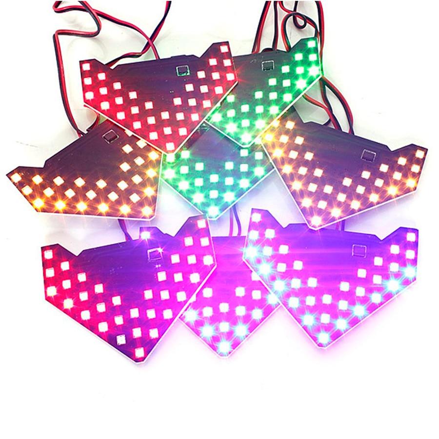 GEETANS 2PCS / Set 33 SMD LED Arrow Panels Ավտոմեքենայի - Ավտոմեքենայի լույսեր - Լուսանկար 2