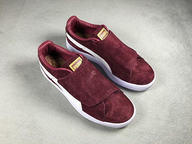 665debffa859 2018The new Puma Suede Strap Rihanna two shoes with men soft bottom  increased light ultra shoes
