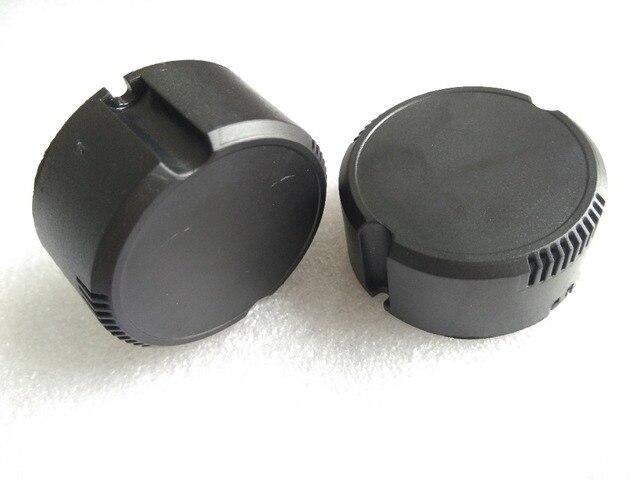 50*23 MM Runde led-lampe antriebsleistung stick gehäuse gehäuse einer kreisförmigen kunststoff power box gehäuse