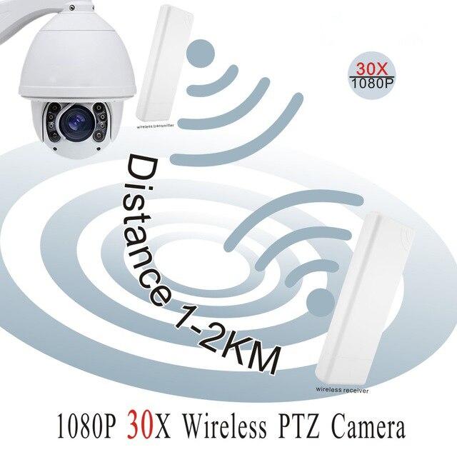 YUNCH NEW 2MP HD1080P 30X Optical Zoom WiFi Security CCTV IP wireless PTZ Camera free shipping original english version ds 2ae7230ti hd1080p turbo ir ptz dome camera 30x optical zoom up to 120m cctv camera