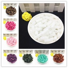 Wholesale 8x20 mm Acrylic Clouds Beads Effect Cylinder BEADS Spacer Loose Craft DIY