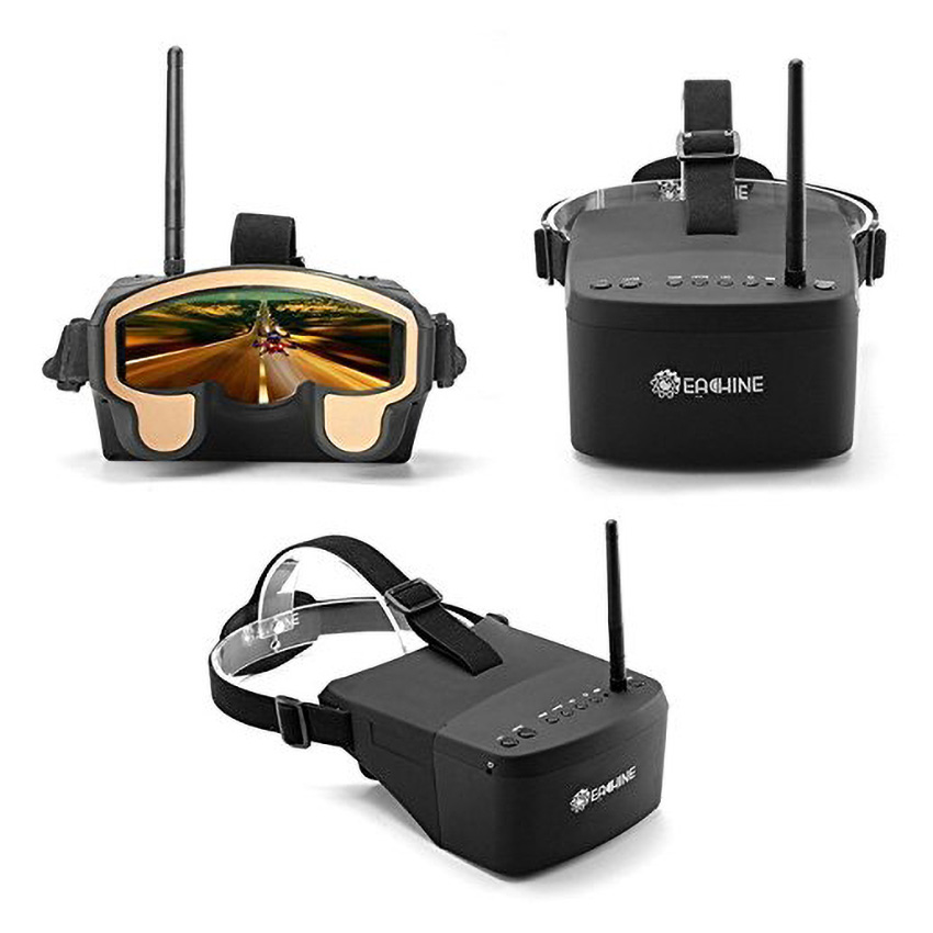 Original Eachine EV800 5 Inches 800x480 FPV Video Goggles 5.8G 40CH Raceband Auto-Searching Build In Battery FPV Part (In Stock)Original Eachine EV800 5 Inches 800x480 FPV Video Goggles 5.8G 40CH Raceband Auto-Searching Build In Battery FPV Part (In Stock)