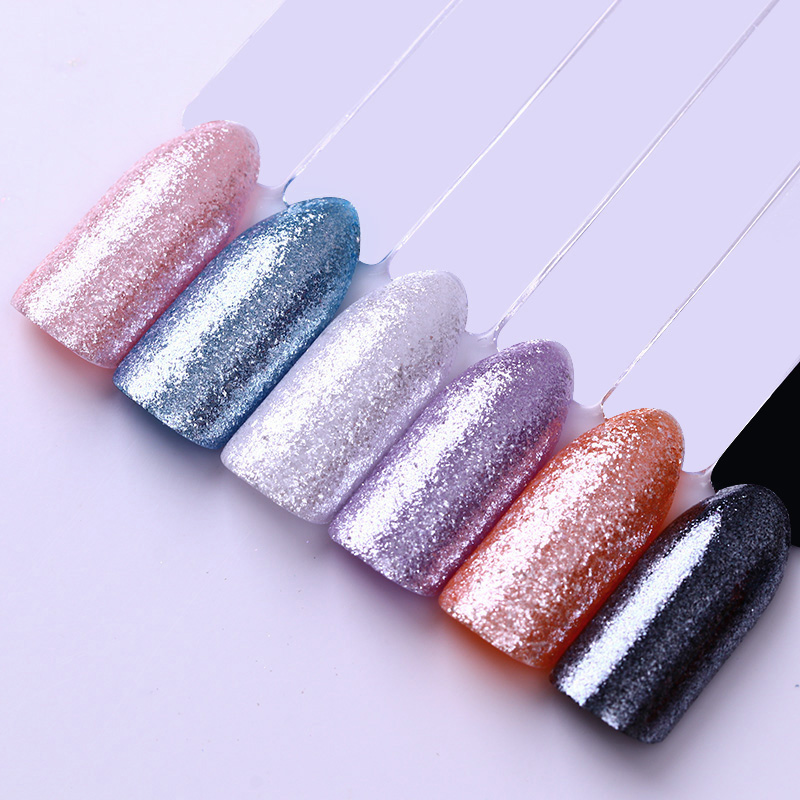 BORN PRETTY Mirror Diamond Glitter Powder Silver Gold Mermaid Dust Chrome Glitters Nailart Shining Nail Art Dust Pigmento Gel UV