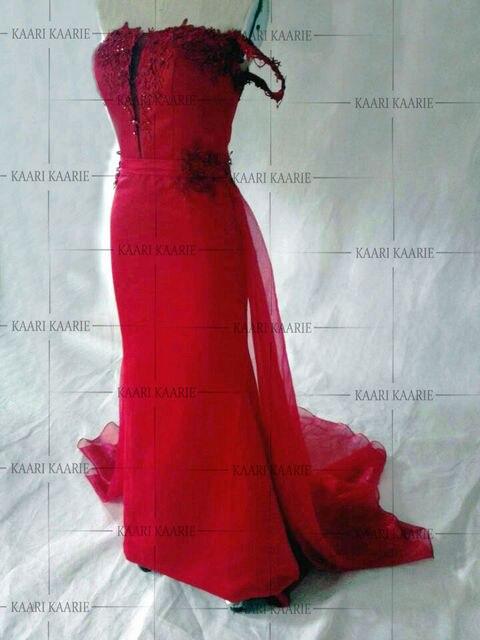 High Quality satin Applique Sleeveless Mermaid Formal Evening Dress Long 2017 Sexy Burgundy Prom Dresses vestido de festa longo