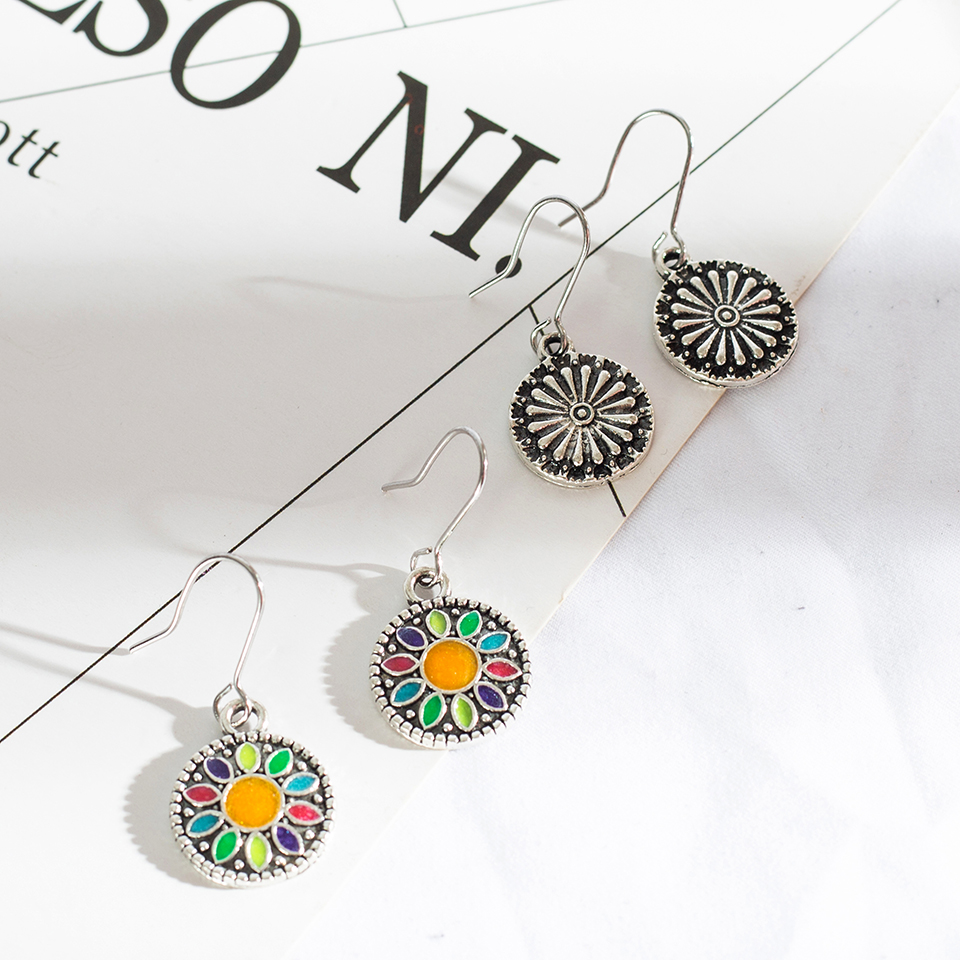 WoW 3 Pairs/Set Vintage  Earrings for Women   2