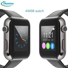 Illumine 2016 heißer Verkauf AW08 Bluetooth Smart Uhr intelligente Smartwatch für Android Handy Mörder Fernbedienung Kamera