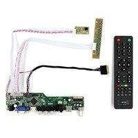 TV HDMI VGA AV USB AUDIO LCD Driver Board For B156XW02 LP140WH1 1366x768 LCD Panel