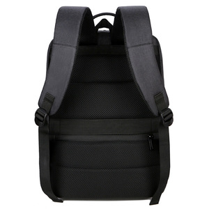 Image 3 - 2019 メンズビジネスノートパソコンのバックパック USB 充電男性 14 15 インチコンピュータバッグ防水 Bookbags トラベル Mochila