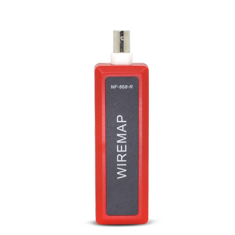 NOYAFA NF-868 RJ11 RJ45 LAN testeur de longueur de câble réseau diagnostiquer tonalité BNC USB ligne métallique téléphone fil Tracker outils de réseau - 5