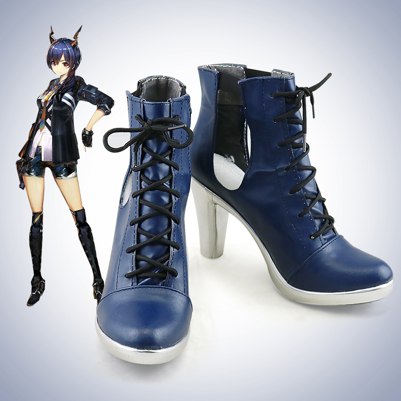 Game Arknights Cosplay Shoes Boots Ch'en Cosplay Shoes Halloween Party Daily Leisure Shoes Anime Cosplay Shoes