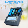Opus BT C3100 V2.2 Smart Digital Intelligent 4 Slot LCD Battery Charger Compatible Li-ion NiCd NiMh AA AAA 10440 18650 Batteries