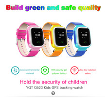Kids GPS Tracking Anti Lost Watch Location Finder SOS Call Safe Remote Monitor Touch Screen Wristwatch For Children as Gift