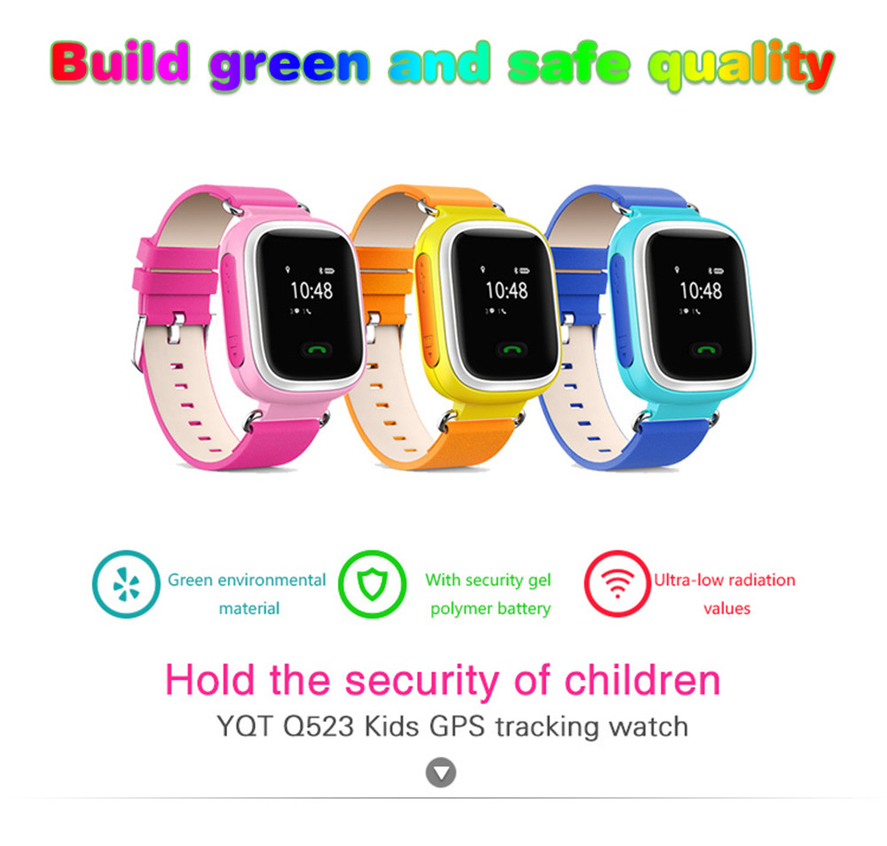Kids GPS Tracking Anti Lost Watch Location Finder SOS Call Safe Remote Monitor Touch Screen Wristwatch For Children as Gift df25 child smartwatch ip67 swim gps touch phone smart watch sos call location device tracker kids safe anti lost monitor pk q50