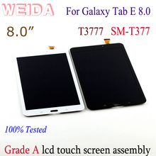 цена на 8 For Samsung Galaxy Tab E 8.0 T377 T3777 LCD Display Touch Screen Digitizer For Samsung Galaxy T377 LCD screen