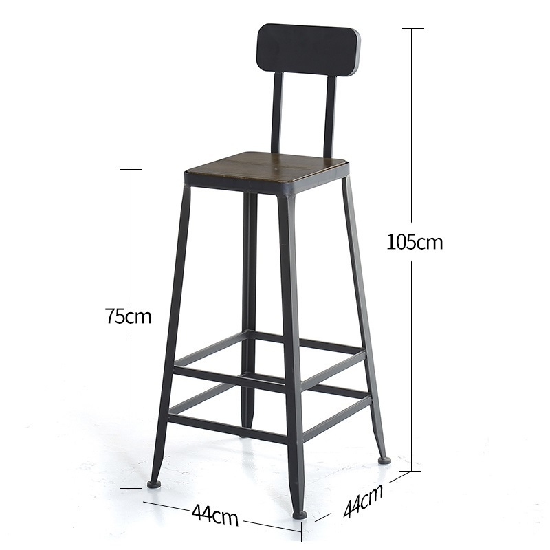Image 5 - Taburete Fauteuil Sandalyesi Hokery Sedia Banqueta Todos Tipos Shabby Chic Tabouret De Moderne Stool Modern Silla Bar Chair-in Bar Chairs from Furniture