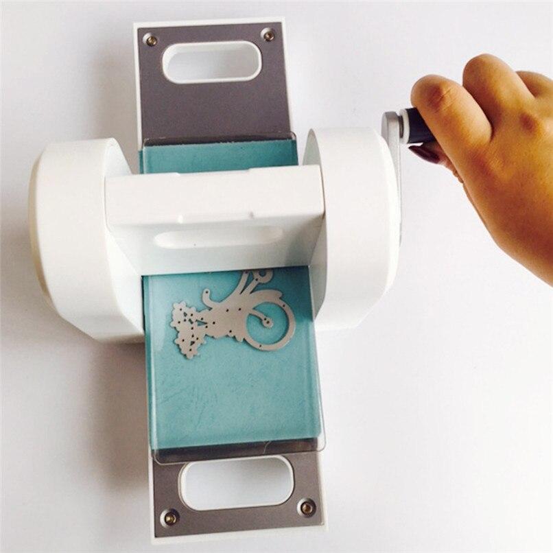 Nieuwe Gestanst Papier Snijmachine Scrapbooking Snijder Snijden Sterven Machine Voor Diy Groothandel Gratis Verzending 30RI28 - 3
