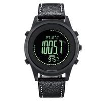 SPOVAN Men Sport Multifunction Carbon Fiber Ultra Thin Watches Climb Mountani Oudoor Wristwatch Compass,Air Pressure,Pedometer