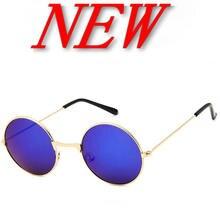 Mens Classic small Round Sunglasses Womens Small Vintage Retro Mirror John Lennon Sun Glass Oculos de sol Masculino zonnebril