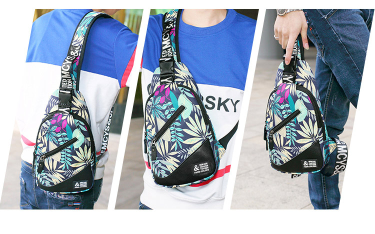 Topdudes.com - Colorful Summer Fashion Chest Bags