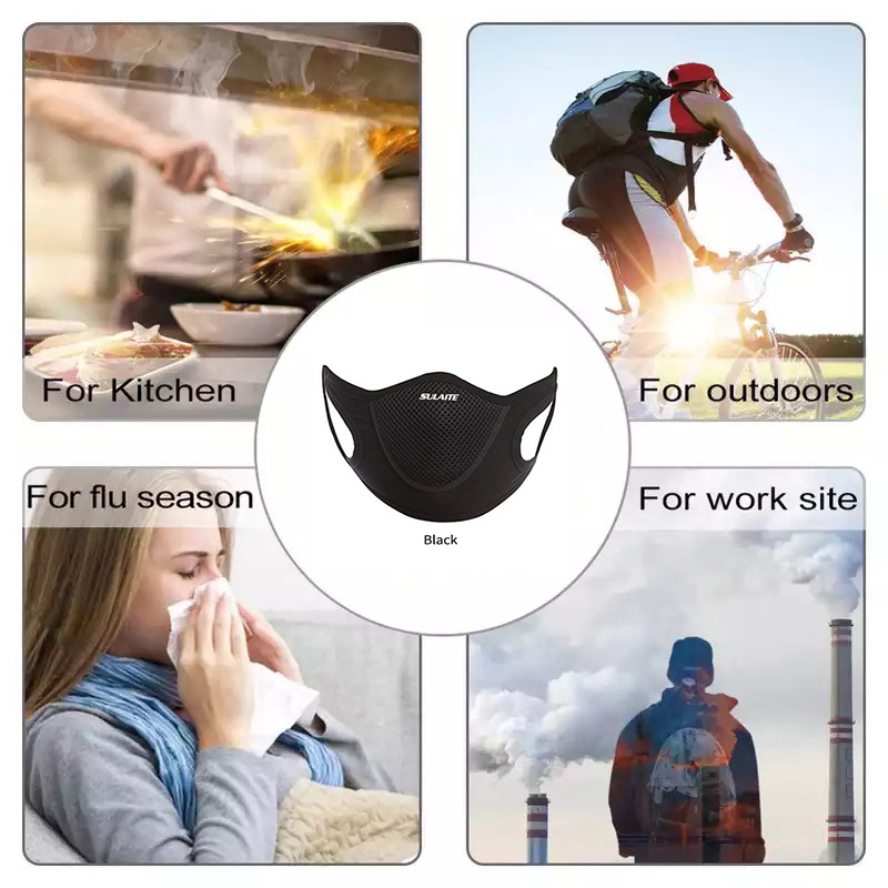 Outdoor Sports Windproof Warm Winter Neck Face Mask Motorcycle Half Face Mask Cover Cycling Riding Snowboard Ski