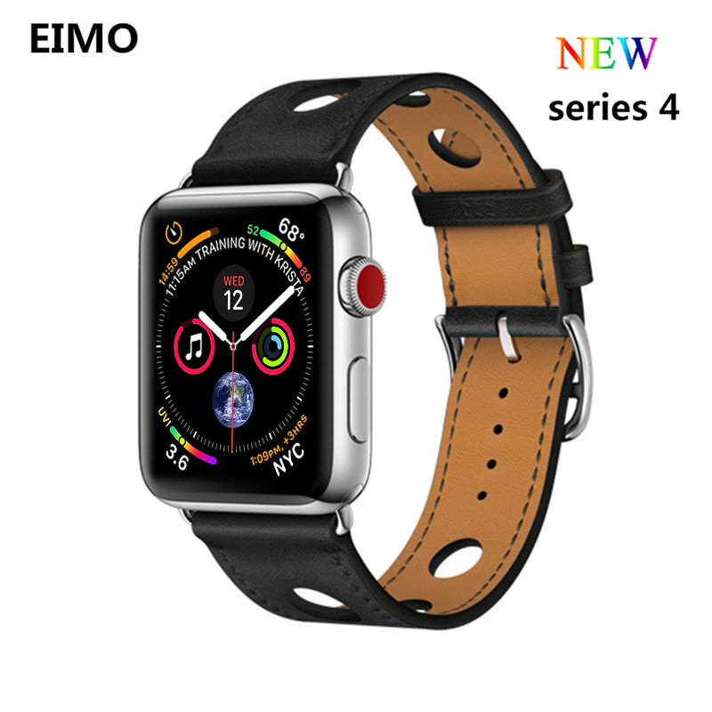 de154bb7959 Clássico Buckle strap Para apple watch band 4 44mm 40mm iwatch série 4 3