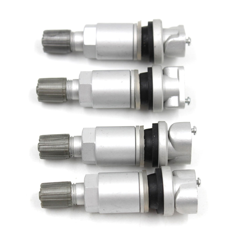 YAOPEI 4PCS New TPMS System Tyre Pressure Sensor Valve Repair Kit For Peugeot 407 407SW