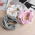 Baby Children Boys Girls Winter Warm Rabbit O-Ring Collar Cotton Neck Scarf -Y107