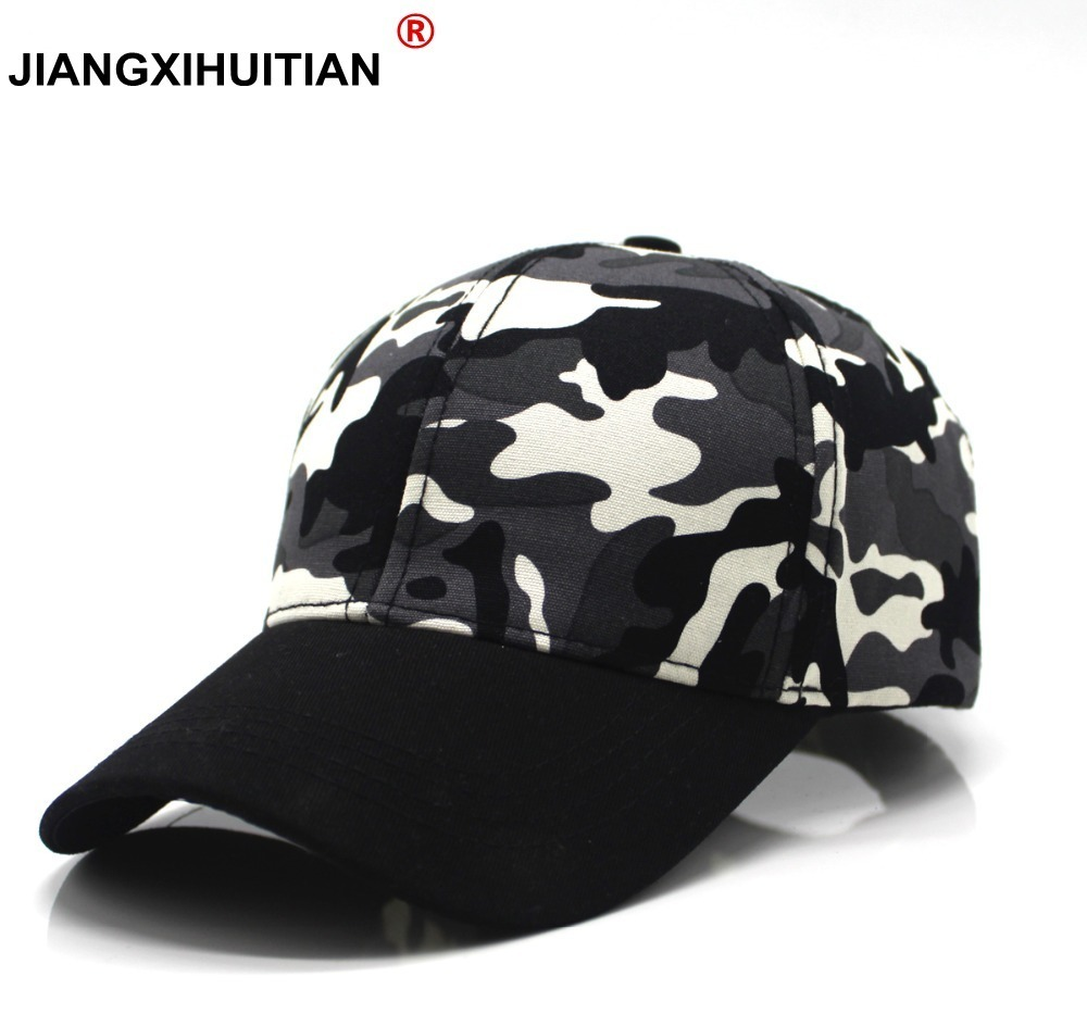 2018 New Camo Baseball Cap Fishing Caps Men Outdoor Hunting Camouflage Jungle Hat Airsoft Tactical Hiking Casquette Hats 9color