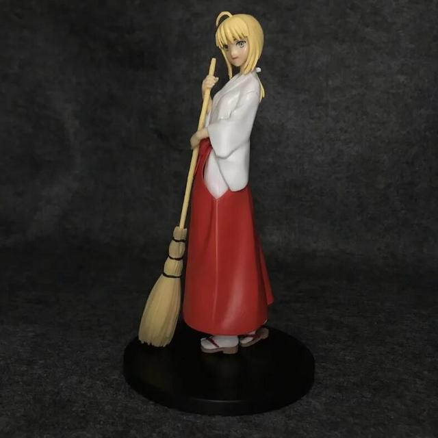 21cm Fate/Stay Night Saber kimono Anime Action Figure PVC New Collection figures toys Collection for Christmas gift