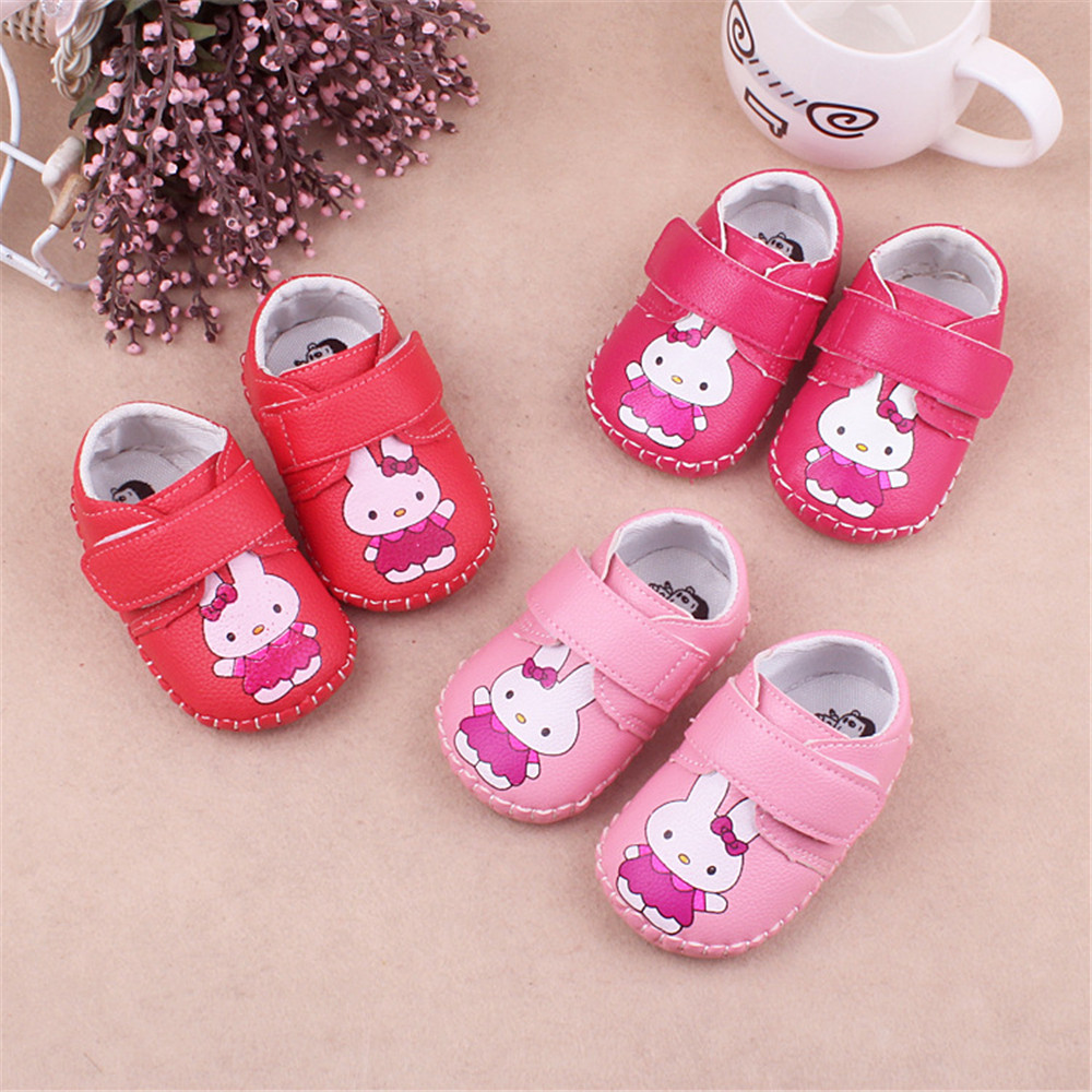 Cute Rabbit Infant Toddler Crib Babe Girls First Walkers Sneakers Newborn Baby Boys Girls Shoes x19