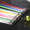 1pcs/lot Long design lanyard strap for cell phone camera usb flash drive net silver mp3 point pen mobile lanyard