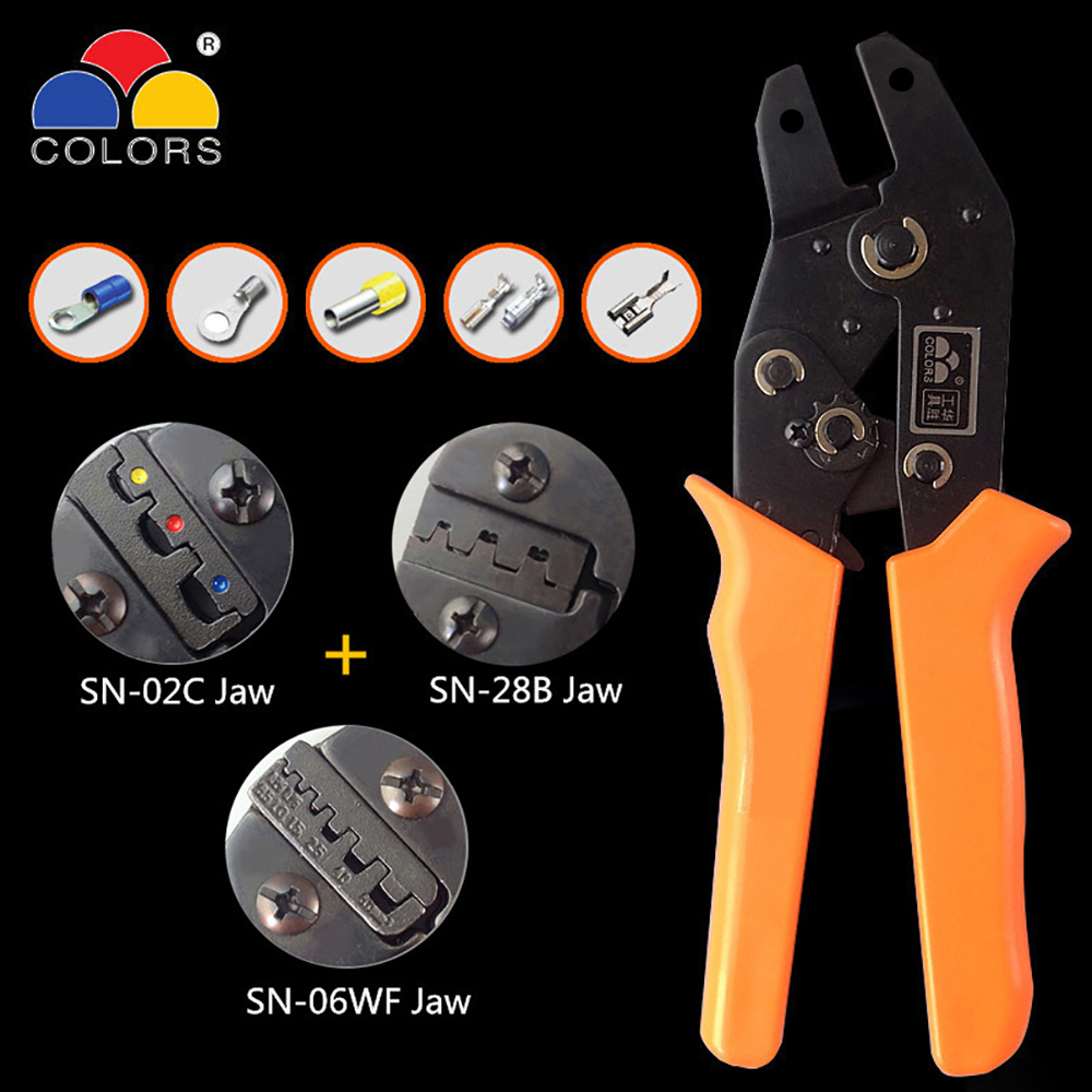 Romantisch Crimper Sn-28b Crimpen Tool Alicate Sn-02c Terminal Crimpen Zangen Handwerkzeuge Draht Crimp Werkzeug Crimpador Zange Sn-48b Krimptang Einfach Zu Reparieren Werkzeuge