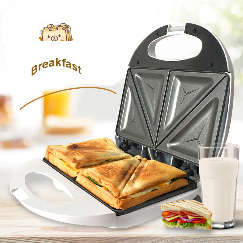 Multifunction Automatic Toaster Bread Home Appliances For Kitchen Hamburger Sandwich Sandwichera Infantil Breakfast Maker S-07 Тостер