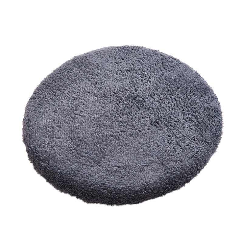 16 Inch Round Non Slip Chair Cushion Indoor Outdoor Area Rug For Camping Patio Office Comfortable Sitting