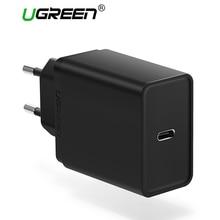 Ugreen 30 Вт Тип USB c Зарядное устройство быстро Тип-C стены Зарядное устройство мобильного телефона PD Зарядное устройство для Nintendo переключатель MacBook nexus 6 P/5X lumia950
