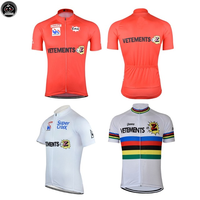 92ac96db1 Classical NEW ROAD MOUNTAIN Bike pro Team Retro Cycling Jersey Breathable  Customized JIASHUO 3 Styles