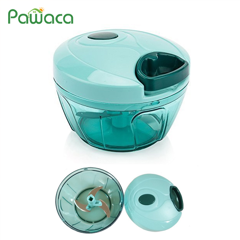 Pull String Manual Food Processor Hand Held Vegetable Chopper / Mincer / Blender For Fruits/Vegetables/Nuts/Onions/Garlics/Salad