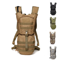 a7c017d078f 3L Outdoor Backpack Molle Military Tactical Hydrator Pouch Cycling Water  Bag Camping Camelback Hiking Nylon Camel