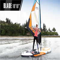 2018Summer Vacation Inflatable Wind Surfing Paddle board Sup All Around Crusing Wave Board Surfboard Paddle board Surf board