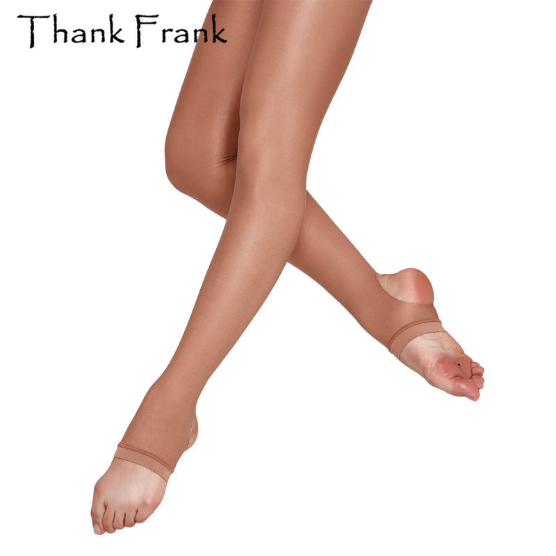 d228fc327c4 Kids Adult Thickening Shimmery Stirrup Tights-in Tights from Underwear    Sleepwears on Aliexpress.com