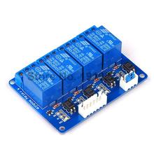 1PCS 4 Channel 5V Relay Module Shield 5V 4-Channel Relay Module for Arduino
