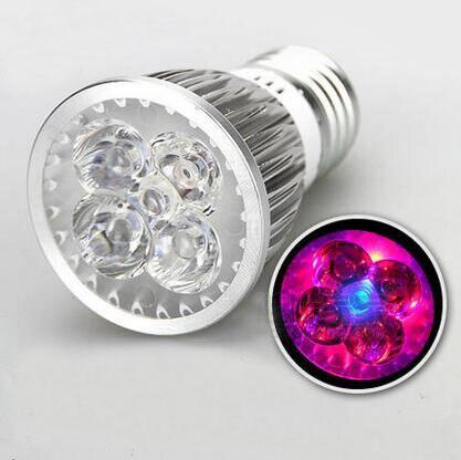 3W 4W 5W Plant LED Grow Light GU10 Spotlighting Lamp Hydroponic LED Bulb Garden Lighting Lamp Cup
