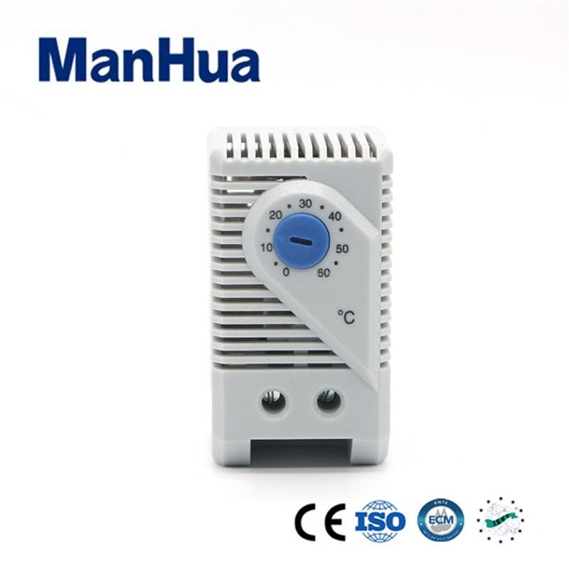 Manhua Hot Producct KTS 011 Wafer Thermostat Bimetal Temperature Switch MAX 250VAC Plastic Sensor Switch Smart Home Automatio 10pcs ksd301 92 celsius temperature switch bimetal disc thermostat nc