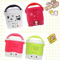 1L جهاز طهي الأرز المستخدم في المنزل 110 فولت إلى 220 فولت أو سيارة 12 فولت إلى 24 فولت بما فيه الكفاية لشخصين مع تعليمات اللغة الإنجليزية